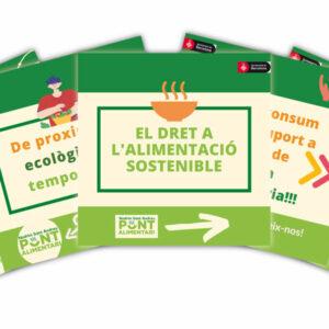 Campanya alimentació sostenible Pont Alimentari. L'Any de l'alimentació sostenible